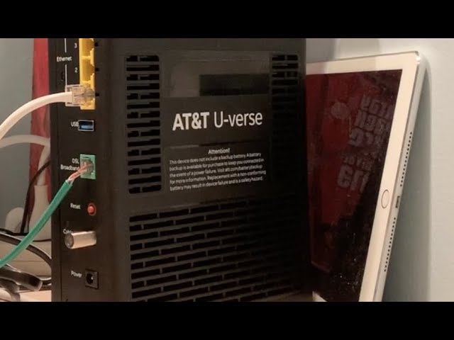 How To Change Your Att Router Wifi Gateway And Internet Connection Youtube
