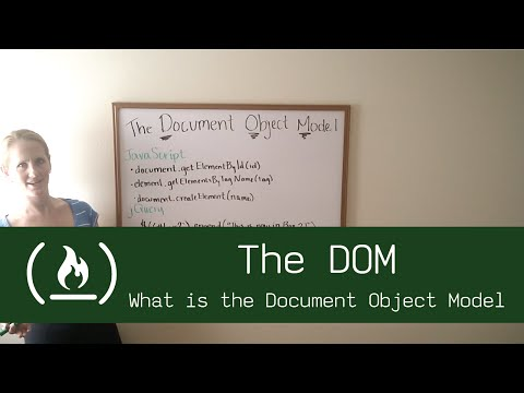 The DOM: What's the Document Object Model?