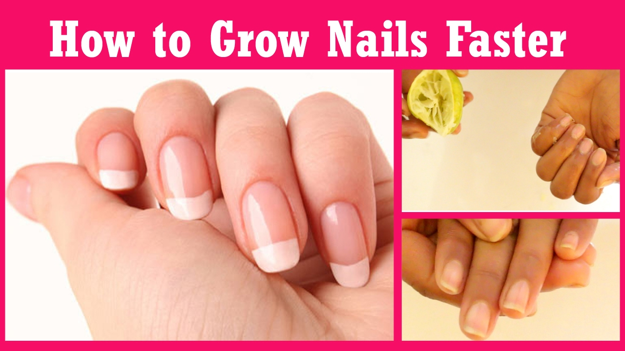 How To Grow Nails Faster And Stronger in just 7 days - How To Grow ...