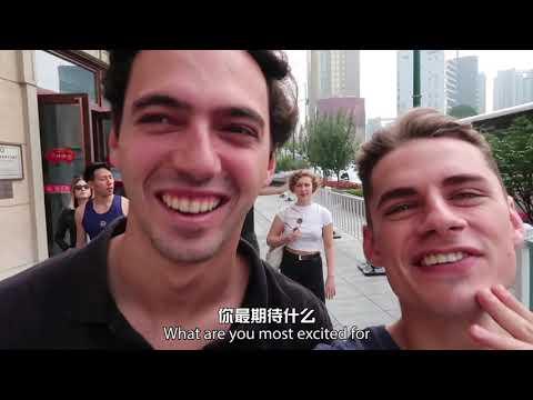"Most Creative Award and Most Popular in China Award: ""Travel around China"" by Max"