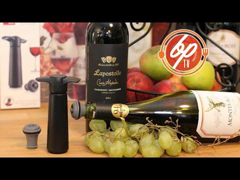 Vacu Vin Sistema Económico De Preservación De Vinos