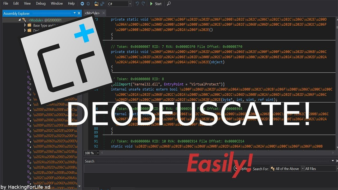 How to deobfuscate ConfuserEx easily! (Max Settings) by Hacking4Life