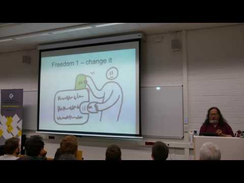 Richard Stallman - Free Software, Your Freedom, Your Privacy | Cologne | Lecture | 4K