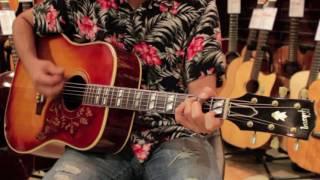 1963 Gibson Hummingbird Demo