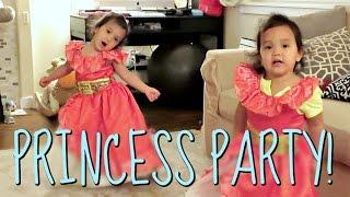 PRINCESS PARTY!!! - August 17, 2016 -  ItsJudysLife Vlogs