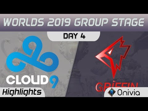 C9 vs GRF Highlights Worlds 2019 Main Event Group Stage Cloud9 vs Griffin by Onivia