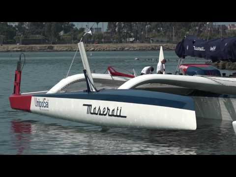 TRANSPAC / Maserati Multi70 pre start