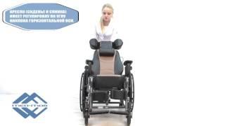 видео Кресло-коляска инвалидное механическое Vermeiren V300 Comfort