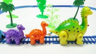 Dinosaur Train Toys Kids Video - Funny Track Set for Kids