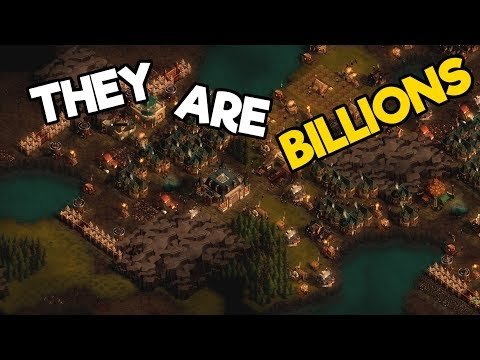 They Are Billions Gameplay #7 - Growing The Army and Map Clearing!