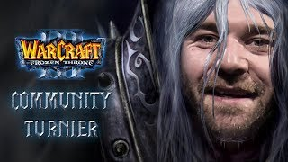 Warcraft 3: Community-Turnier-Finale mit Jannes 'Neo' von Back2Warcraft