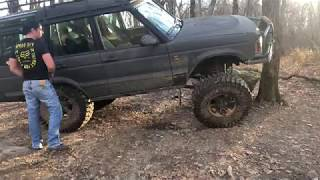 Discovery 2 off roading video 11/11