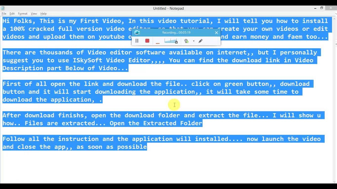 iskysoft video editor full crack