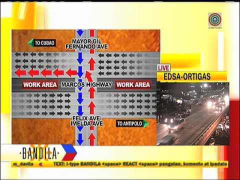Dry run for LRT 2 extenion traffic management plan starts