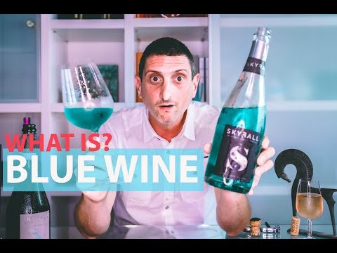wine article Is Blue Wine Any Good