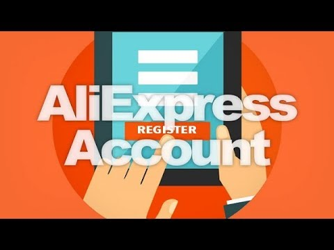 How to create an ali express & Alibaba Express account