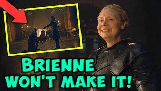 Brienne Of Tarth Won't Survive The Battle At Winterfell! SEASON 8