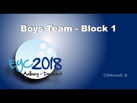 EYC 2018  Boys Team Block 1  Channel 3