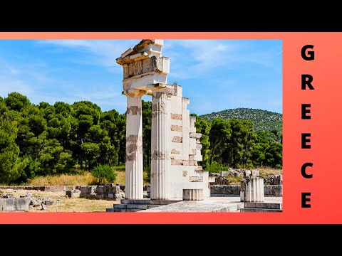 GREECE, world's most ancient and largest healing center and spa (Epidaurus)
