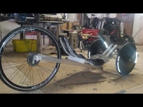 Recumbent bike for dummies, Velomobile Aer1s - 1.a parte: specifiche tecniche e saldatura