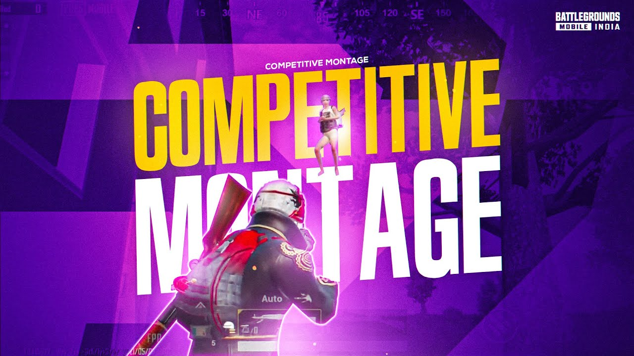 Competitive Montage | Grinding For BMIS | PMCO, PMIS Grand Finalist | BattleGrounds Mobile India