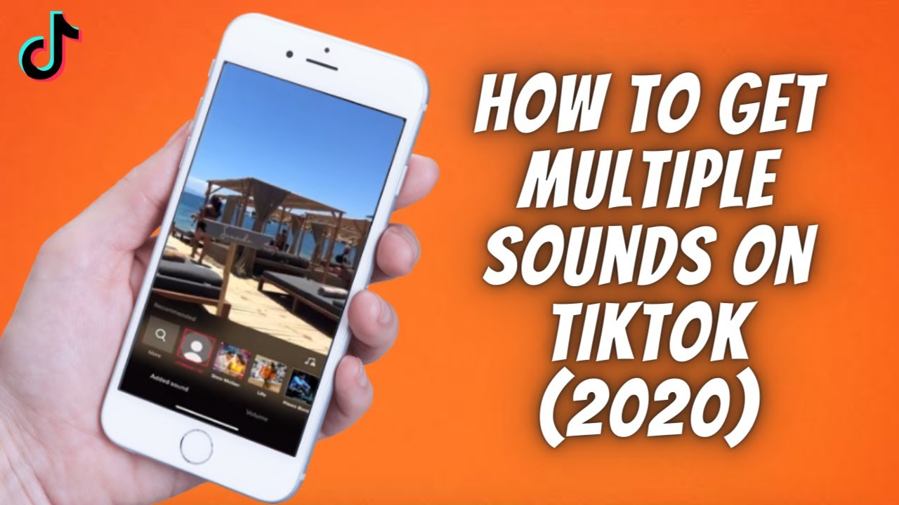 How To Get Multiple Sounds On Tiktok 2020 How To Add 2 Sounds Or More To One Tik Tok Video Youtube