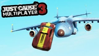 JUST CAUSE 3 MULTIPLAYER - YOU HAVE TO SEE WHAT JUST HAPPENED!
