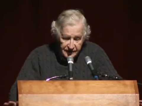 Noam Chomsky - Education For Whom and For What Part 1