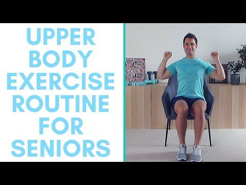 Upper Body Exercise Routine No Equipment | The Best Upper Body Exercises For Seniors