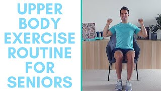 Improve your upper body strength, get fitter and move better with this seated exercise routine. i'll be creating two videos a week whilst we see o...