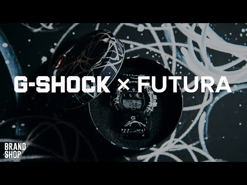 Часы Casio G-SHOCK x Futura в Brandshop.ru 2016 | Коллаборация G-Shock watch Futura GD-X6900FTR-1ER