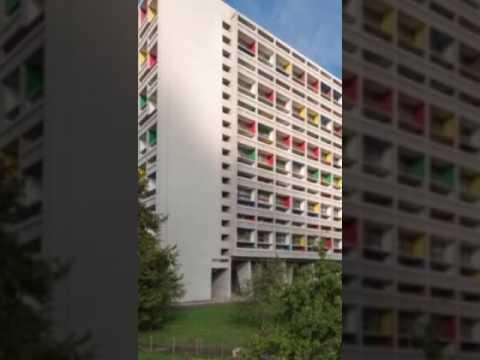 Unité d'habitation de briey en forêt - Le corbusier