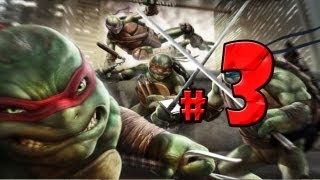 TMNT Out of the Shadows Walkthrough Part 3 - No Commentary