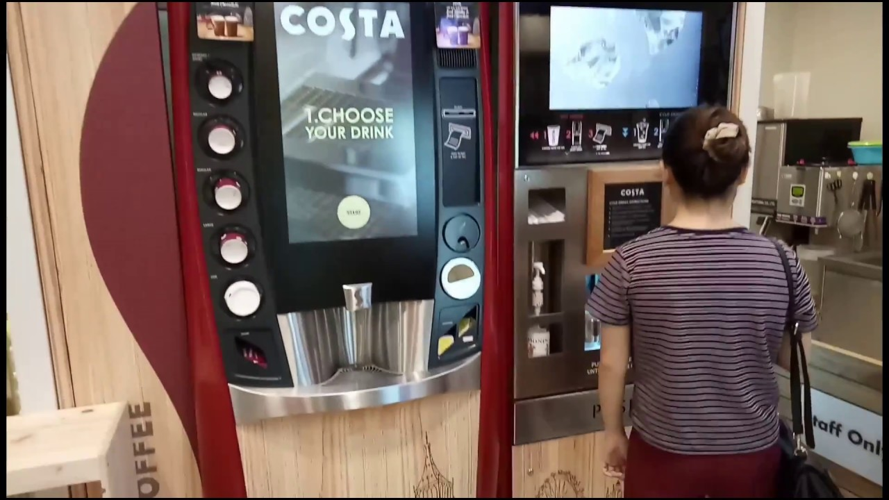 Shell Costa Coffee Costa Coffee Self Service Vending