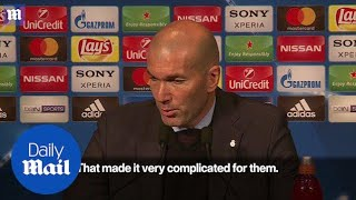 PSG's Zinedine Zidane on team being knocked out of competition - Daily Mail