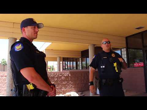 Phoenix Post Office Police Contact with Arizona Auditor