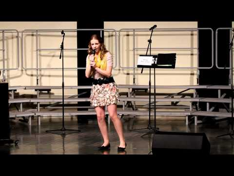 Emily Roessing Pop Concert 05/10/2012