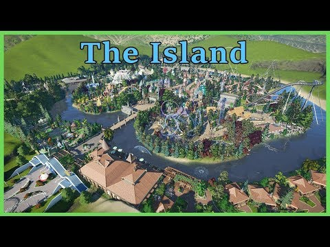 THE ISLAND: Theme Park & Resort! Park Spotlight 102 #PlanetC