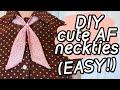 """DIY """"Lady"""" Necktie"""