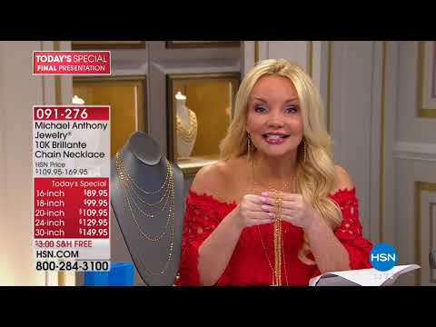 HSN | Michael Anthony Jewelry 05.07.2018 - 09 PM