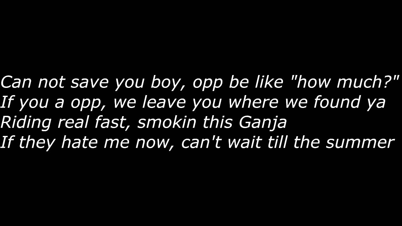 Chief Keef - How Much (Official Screen Lyrics) - YouTube