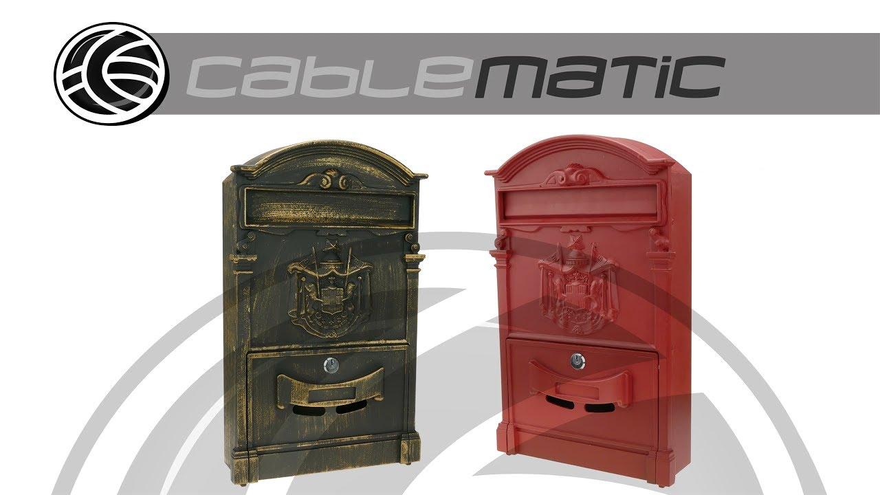 Buz n vintage mail distribuido por cablematic youtube - Buzon vintage ...