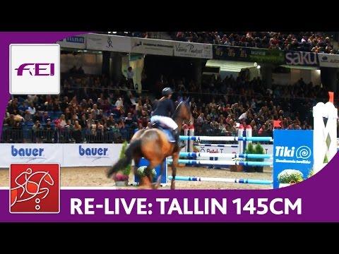 Re-Live | Day 2: Tallinn International Horse Show | Class 145 cm | presented by Tiki Treiler