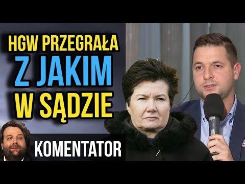 HGW Przegrała w Sądzie z Patryk Jaki - KomentAtor