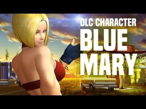 فيديو للشخصية الإضافية Blue Mary للعبة القتال The King of Fighters XIV