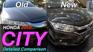2017 / 2018 New Honda City Comparison with Old. Philippines.