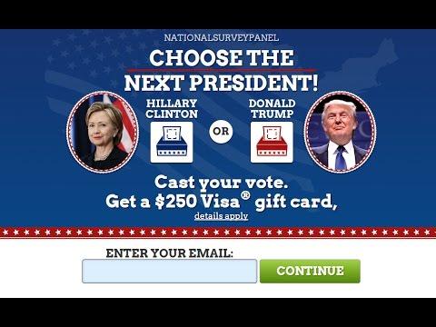 Donald Trump vs Hillary Clinton Poll | Us Election 2016