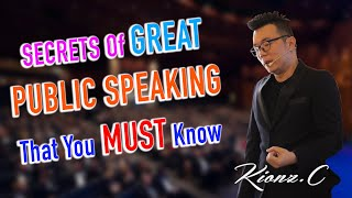 5 tips to be a better public speaker / 5 tips to improve your public speaking