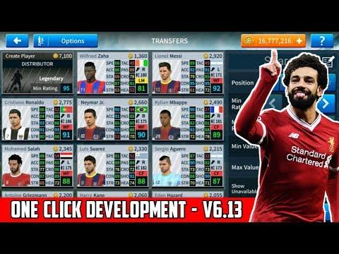 Dream League Soccer Mega MOD V6.13 (One Click Player Development+All Players Unlocked)