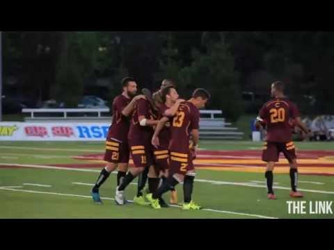 Stingers Men's Soccer Team Wins 4-0 Over McGill